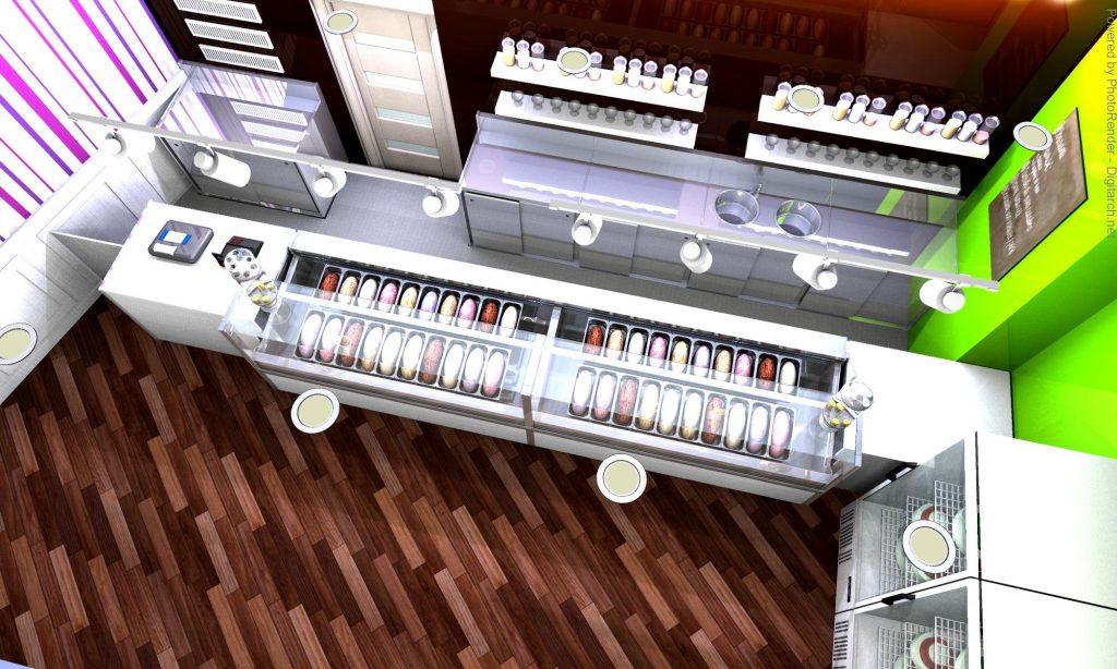 arredamento gelateria fan est avellino