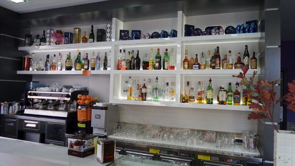 alcolici bancone