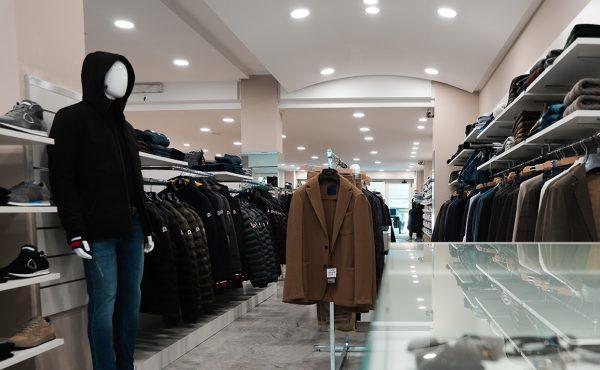 negozio di abbigliamento giacche